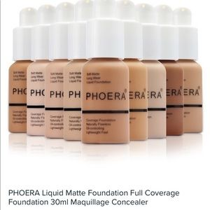 PHOERA Full Coverage Foundation #105 Sand NEW!